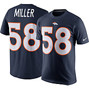 Nike Men's Denver Broncos Von Miller #58 Pride Navy T-Shirt