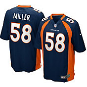 Nike Men's Alternate Game Jersey Denver Broncos Von Miller #58