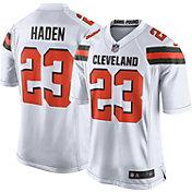 Nike Men's Away Game Jersey Cleveland Browns Joe Haden #23