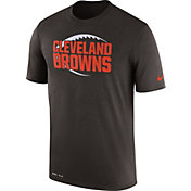Nike Men's Cleveland Browns Legend Football Icon Performance Brown T-Shirt