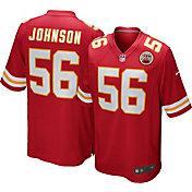 Nike Men's Home Game Jersey Kansas City Chiefs Derrick Johnson #56