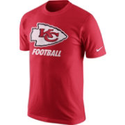 Nike Men's Kansas City Chiefs Facility Red T-Shirt