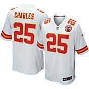 Nike Men's Away Game Jersey Kansas City Chiefs Jamaal Charles #25