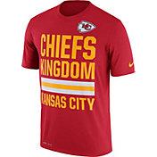 Nike Men's Kansas City Chiefs 'Chiefs Kingdom' Performance Red T-Shirt