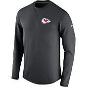 Nike Men's Kansas City Chiefs Sideline 2016 Modern Crew Anthracite Sweatshirt