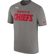 Nike Men's Kansas City Chiefs Property Of Grey T-Shirt