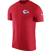 Nike Men's Kansas City Chiefs Sideline 2017 Coaches Performance Red T-Shirt