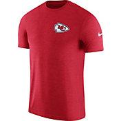 Nike Men's Kansas City Chiefs Sideline 2017 Coaches Performance Red T-Shirt