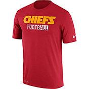 Nike Men's Kansas City Chiefs All Football Legend Red T-Shirt