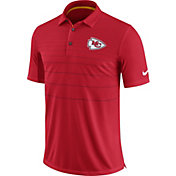 Nike Men's Kansas City Chiefs Sideline 2017 Early Season Red Polo