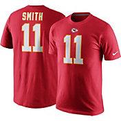 Nike Men's Kansas City Chiefs Alex Smith #11 Pride Red T-Shirt