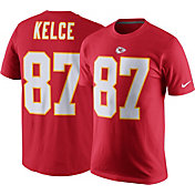 Nike Men's Kansas City Chiefs Travis Kelce #87 Pride Red T-Shirt