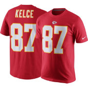 Nike Men's Kansas City Chiefs Travis Kelce #87 Pride Red T-Shirt