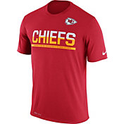 Nike Men's Kansas City Chiefs Practice Red T-Shirt