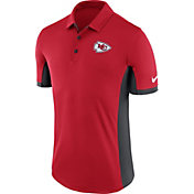 Nike Men's Kansas City Chiefs Evergreen Performance Red Polo
