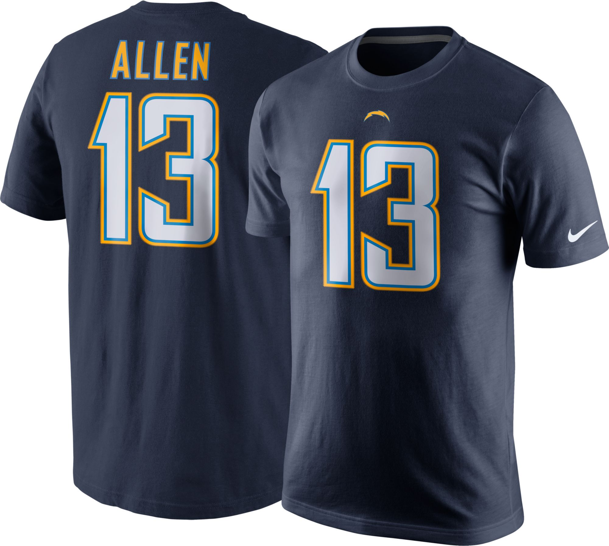 5362aee25 ... Electric Blue Alternate Mens Stitched NFL Vapor Untouchable Nike Mens  Los Angeles Chargers Keenan Allen 13 Pride Navy T ...