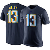 Nike Men's Los Angeles Chargers Keenan Allen #13 Pride Navy T-Shirt
