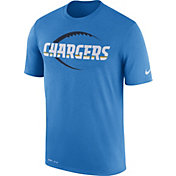 Nike Men's Los Angeles Chargers Legend Football Icon Performance Blue T-Shirt
