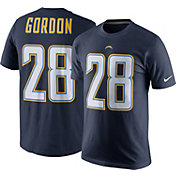 Nike Men's Los Angeles Chargers Melvin Gordon #28 Pride Navy T-Shirt