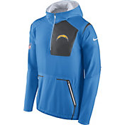 Nike Men's San Diego Chargers Sideline 2016 Alpha Fly Rush Blue Jacket