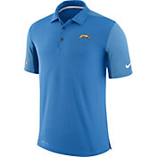 Nike Men's Los Angeles Chargers Sideline 2017 Team Issue Blue Polo