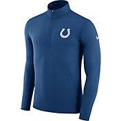 Nike Men's Indianapolis Colts Element Blue Quarter-Zip Top