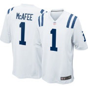 Nike Men's Away Game Jersey Indianapolis Colts Pat McAfee #1