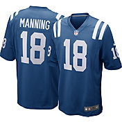 Nike Men's Home Game Jersey Indianapolis Colts Peyton Manning #18