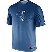 Nike Men's Indianapolis Colts Sideline 2015 Legend Player Blue T-Shirt