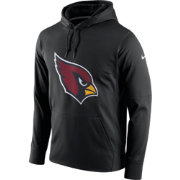 Nike Men's Arizona Cardinals Performance Circuit Logo Essential Black Hoodie