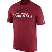 Nike Men's Arizona Cardinals Legend Icon Performance Red T-Shirt