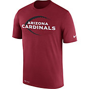Nike Men's Arizona Cardinals Legend Icon Performance Red T-Shirt