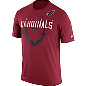 Nike Men's Arizona Cardinals Legend Icon Red T-Shirt