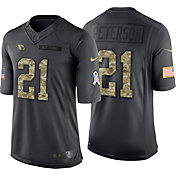 Nike Men's Home Limited Jersey Arizona Cardinals Patrick Peterson #21 Salute to Service 2016