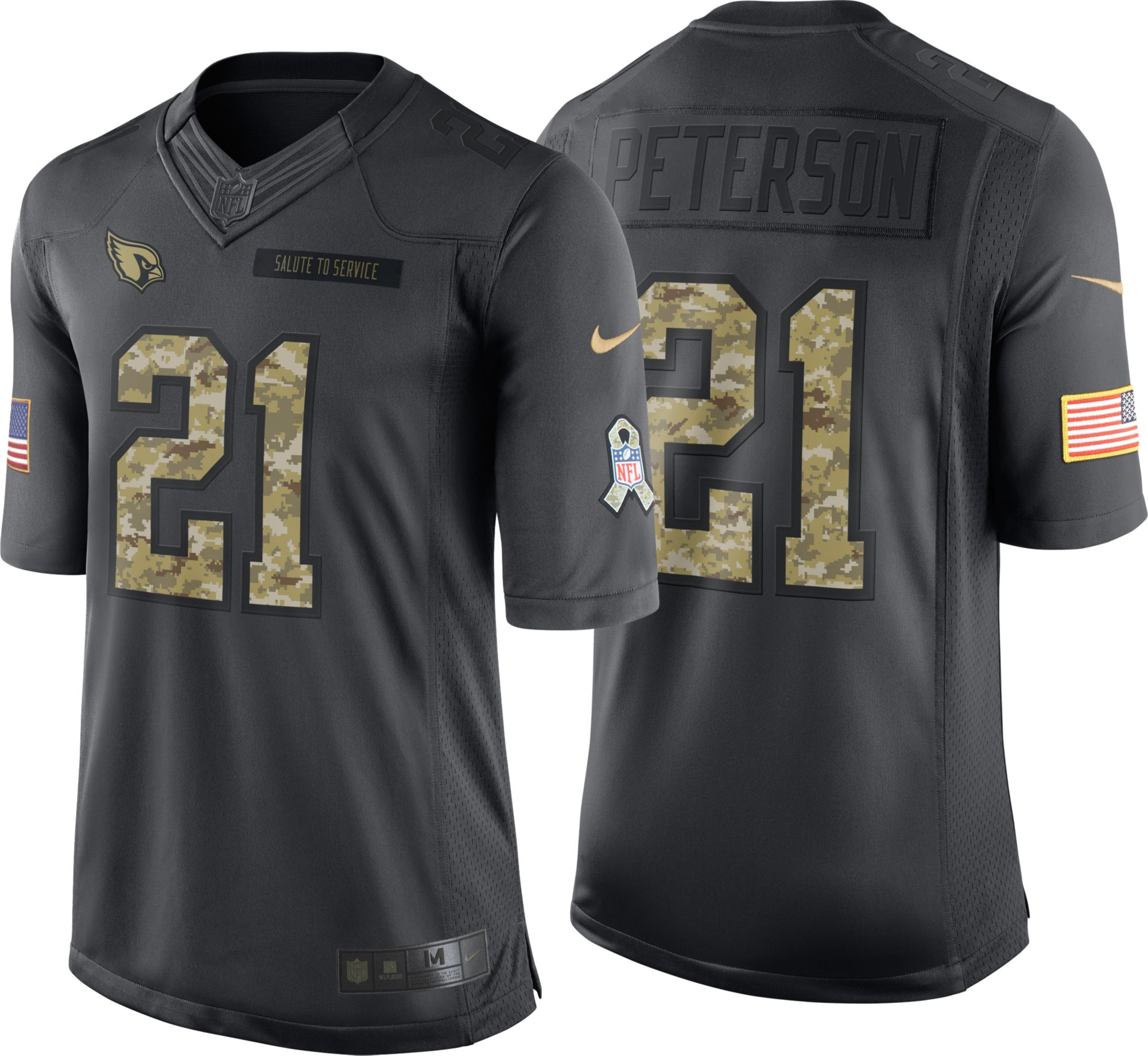 d85fb416 where to buy nike cardinals 40 pat tillman black youth stitched ...