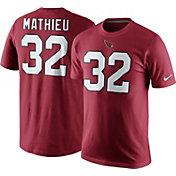 Nike Men's Arizona Cardinals Tyrann Mathieu #32 Pride Red T-Shirt