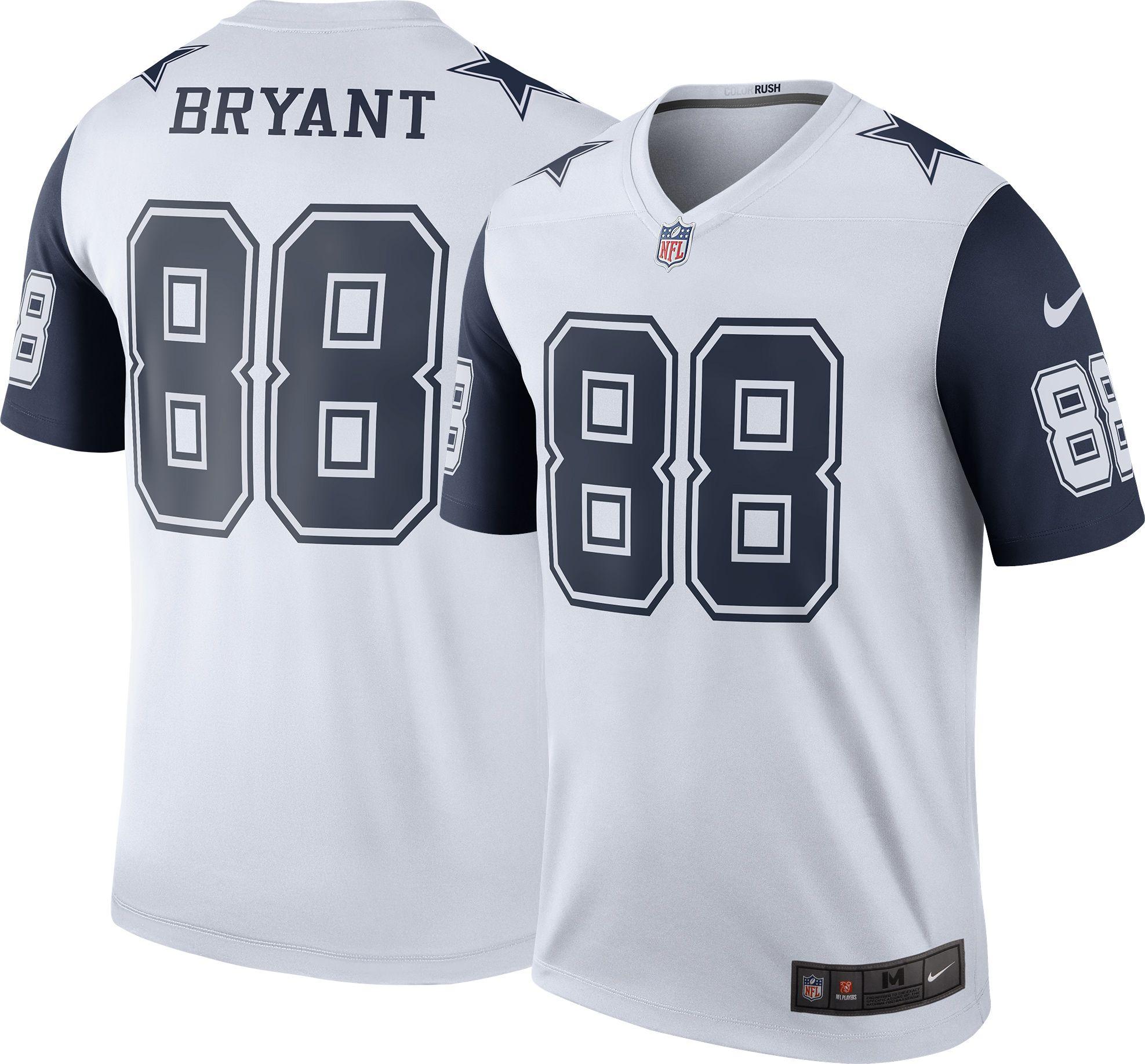 Nike Men's Color Rush Dallas Cowboys Dez Bryant #88 Legend Jersey   DICK'S  Sporting Goods