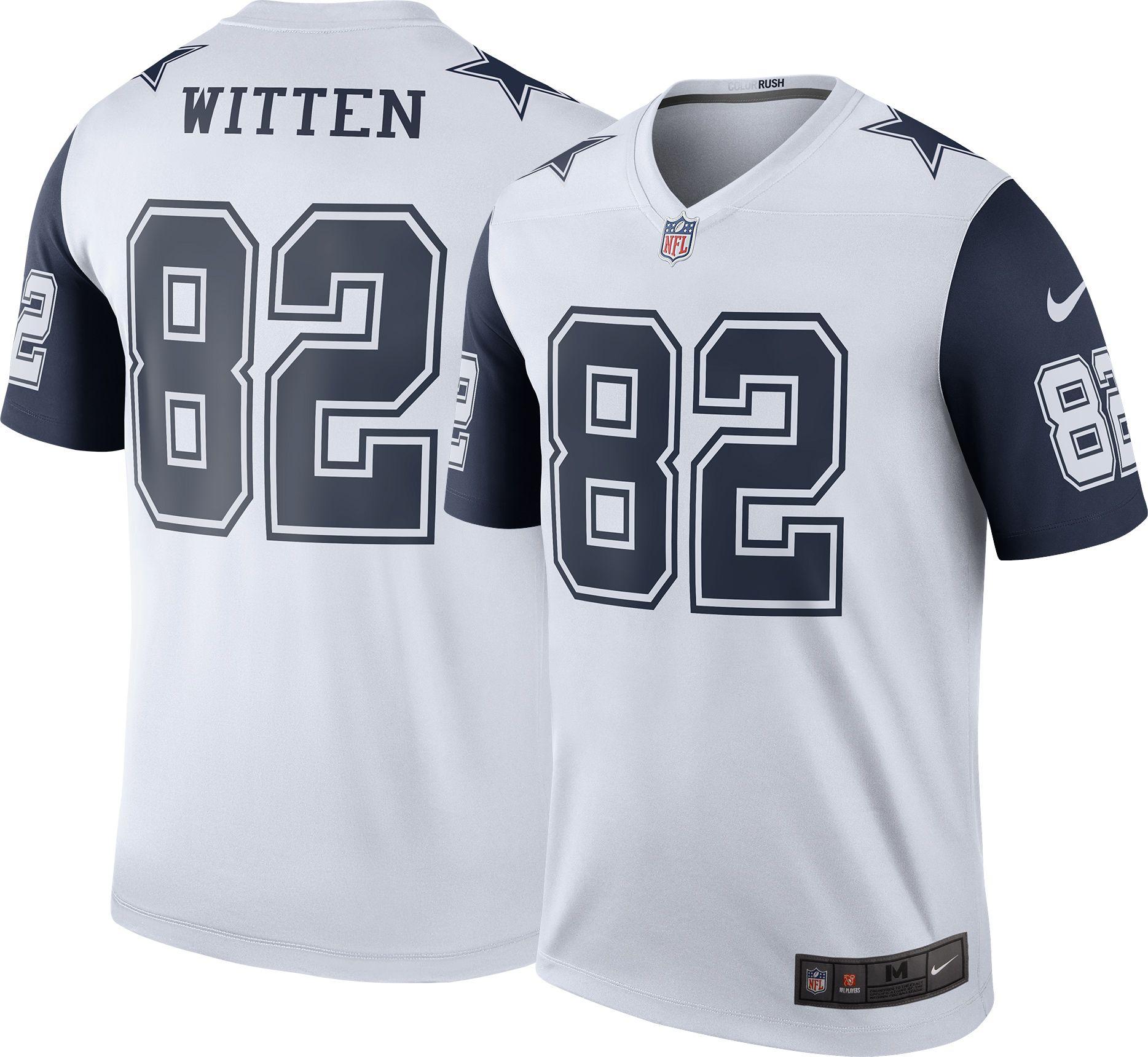 e496cbb28 ... Nike Mens Color Rush Dallas Cowboys Jason Witten 82 Legend G ...