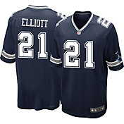 Nike Men's Home Game Jersey Dallas Cowboys Ezekiel Elliott #21