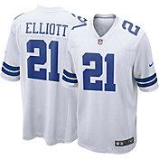 Nike Men's Away Game Jersey Dallas Cowboys Ezekiel Elliott #21
