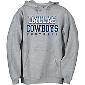 Dallas Cowboys Merchandising Men's Practice Circuit Grey Hoodie