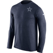 Nike Men's Dallas Cowboys Sideline 2016 Dri-FIT Touch Navy Long Sleeve Shirt