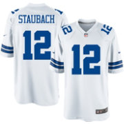 Nike Men's Home Game Legends Jersey Dallas Cowboys Roger Staubach #12