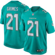 Nike Men's Home Limited Jersey Miami Dolphins Brent Grimes #21