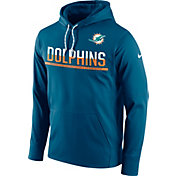 Nike Men's Miami Dolphins Circuit Pullover Navy Hoodie