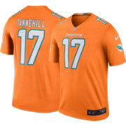 Nike Men's Color Rush Miami Dolphins Ryan Tannehill #17 Legend Jersey