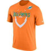 Nike Men's Miami Dolphins Legend Icon Orange T-Shirt