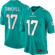 Nike Men's Home Game Jersey Miami Dolphins Ryan Tannehill #17
