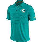 Nike Men's Miami Dolphins Sideline 2017 Early Season Aqua Polo