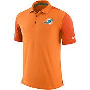 Nike Men's Miami Dolphins Sideline 2017 Team Issue Orange Polo